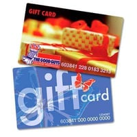Promotional PVC Gift Cards