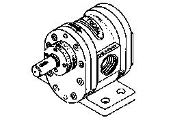 Rotory Gear Pump Type 'Gdh'