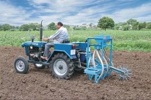 Automatic Grain Seed Drill