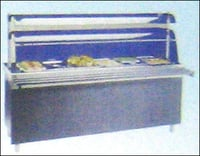 HOT COUNTERS WITH FOOD WARMER