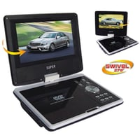 "7.5"" Portable DVD Player With Rotatable LCD Screen"