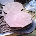 HAND CUTS ROUND TILES