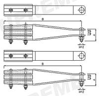Cover Plate Tension Clamps