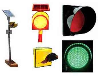 Solar Led Traffic Signal Light