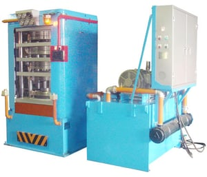 4 - Station Tube Curing Press