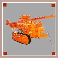 Bec-Track-100 Crawler Mounted DTH Drill