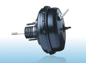 Brake Vacuum Booster With Double Diaphragm