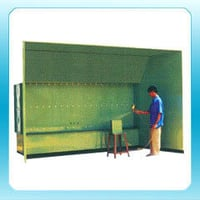 Side Draft Paint Booth-Water Wash Type