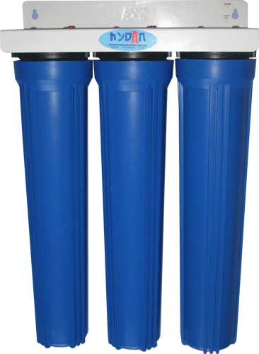 20GA Pipeline Water Purifier - 3 Stages