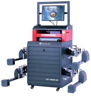 CCD Easy Super Low Car Chassis Testing Wheel Alignment Machine