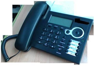 Black Color VOIP Phone