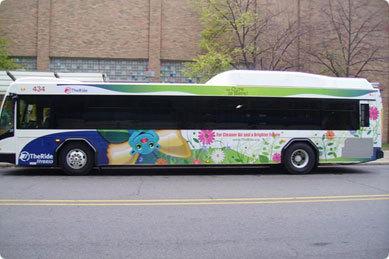 Bus Wrapping PVC Film