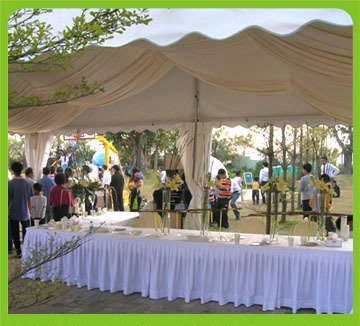 Highly Flexible Catering Tents