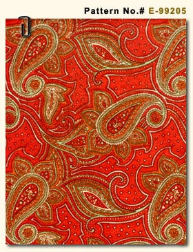 Red Color Print Fabric