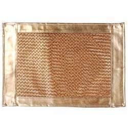 Leather Like Copper Mats