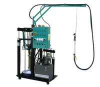 Bi-Component Rubber Spreading Machine