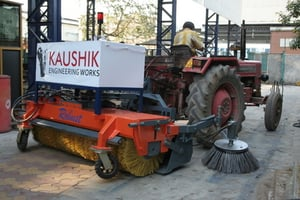 Robust Sweeper for Road Cleaning