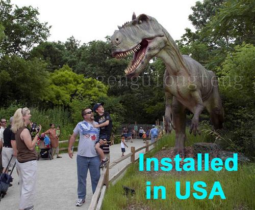 Amusement Park Tyrannosaurus