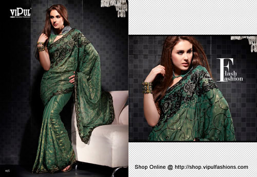 Designer Embroidered Sarees in  Sagar Shopping Center (Rr)