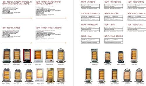 Halogen Heater 400/800/1200W