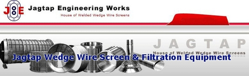 Wedge Wire Rotary Screen Drums