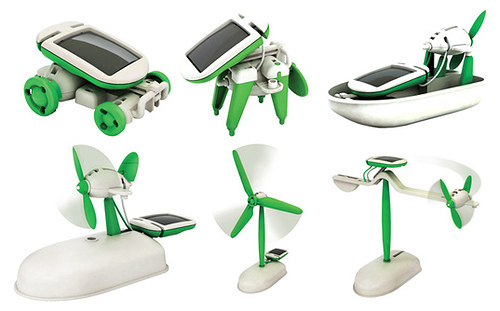 6 In 1 Educational Solar Toy Kit Robot