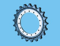 Sprocket Rim And Sprocket Segment