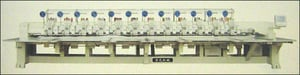 6-Needles And 12+12-Heads Chenille Mixed Embroidery Machines