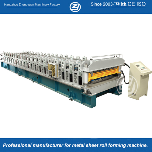 High Speed Double Layer Roll Forming Machine Grade 80 Ksi