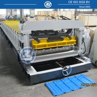 Roof Tile Forming Machinery