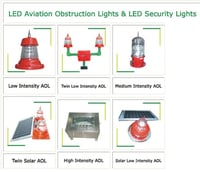 Led Aviation Obstruction Lamp