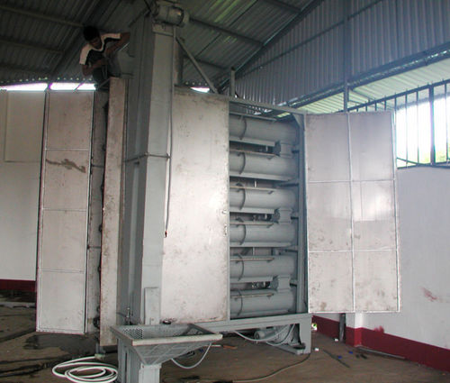 Continuous Cashew Steaming Machine