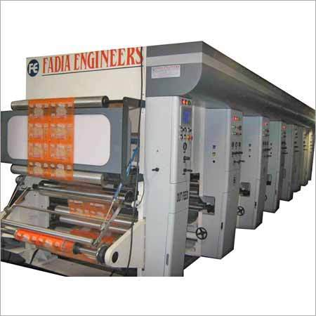 Rotogravure Printing Machine At Best Price In Ahmedabad
