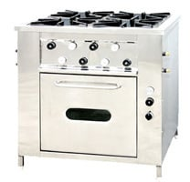 Continental Cooking Range With Oven