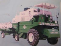 Harvester Combine For Field Work