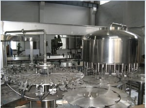 Fully Automatic Rinsing, Filling And Capping Machine For Water