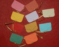 10 Assorted Embossed Tags