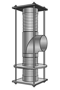 Elbow Pressure Balanced Type Expansion Joints