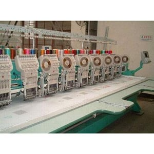 Four Sequins Embroidery Machine