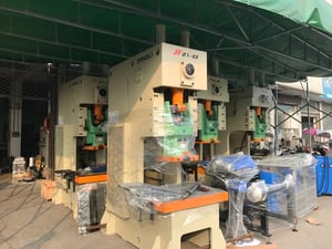 Automatic Stacking Aluminum Foil Container Making Machine
