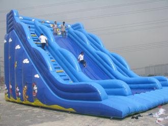 Inflatable Sliding, Inflatable Slideway