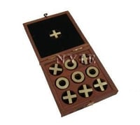Wooden Naughts And Crosses Games