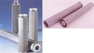 Ss Pleated And Sintered Filter Cartridge