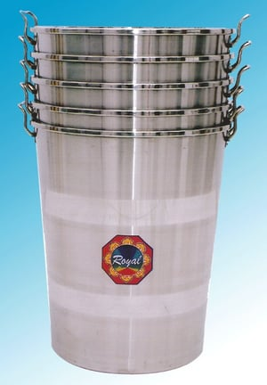 Stainless Steel Stackable Empty Containers