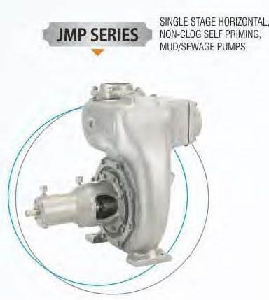 Robust Single Stage Horizontal Centrifugal Mud Pump