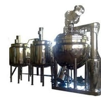 Ointment/Cream Plant Machinery