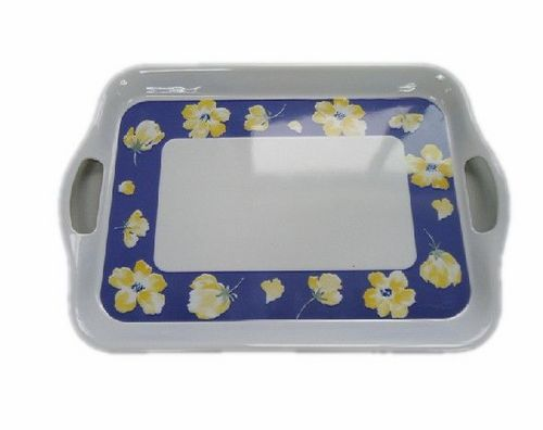 Melamine Tray with Handle