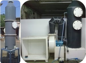 Exhaust Fume Scrubber / Fume Absorber