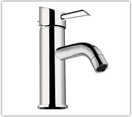 Single Lever Basin Mixer Without Pop Up Waste System