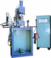 Linear Fixtured Model Air Operated Bench Mounted Welding Machine